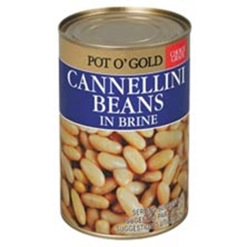 Picture of Pot O Gold Cannellini Beans Can 400g