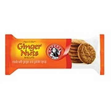 Picture of Bakers Ginger Nuts Biscuits 200g