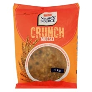 Picture of Natures Muesli Crunch Cereal Pack 1kg