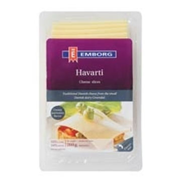 Picture of CHEESE SLICES HARVATI EMBORG 200G PACK