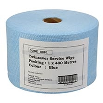 Picture of Twinsaver Blue Cloth Wipe 250 x 400m 1s