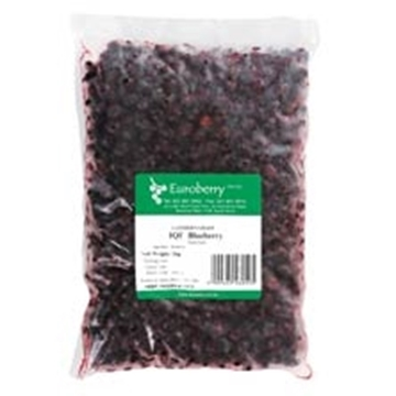 Picture of Euroberry Frozen Blueberries Berries Pack 1kg