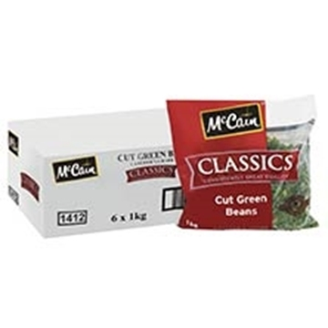 Picture of McCain Frozen Cut Beans Pack 1kg