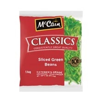 Picture of McCain Frozen Sliced Beans Pack 1kg