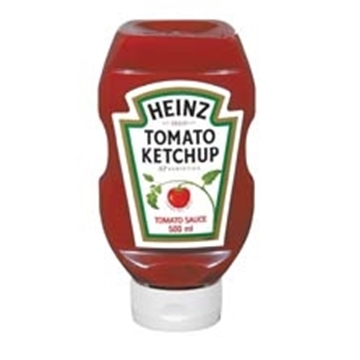 Picture of Heinz Tomato Squeeze Ketchup Bottle 500ml