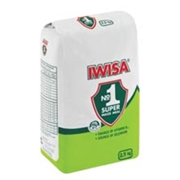 Picture of Iwisa Super Maize Meal Paper Pack 2.5kg