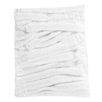 Picture of White Disposable Mop Caps Pack 100s