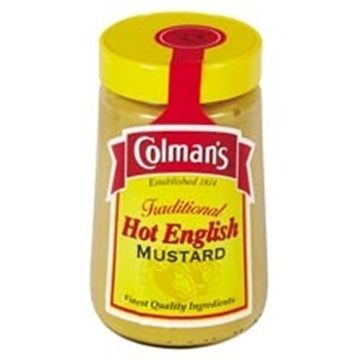 Picture of Colmans Hot English Mustard Jar 168g