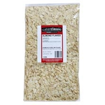 Picture of Caterclassic Flaked Almonds Nuts Bag 1kg