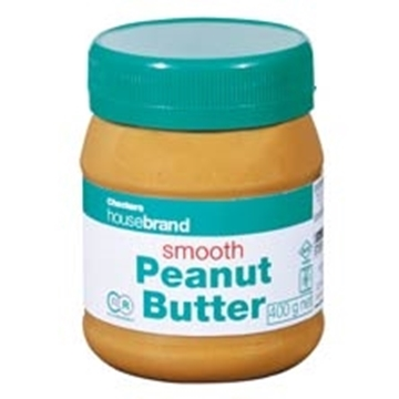Picture of Housebrand Smooth Peanut Butter Bottle 400g