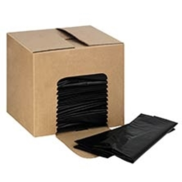 Picture of 40Mic Black Heavy Duty Refuse Bags 200s