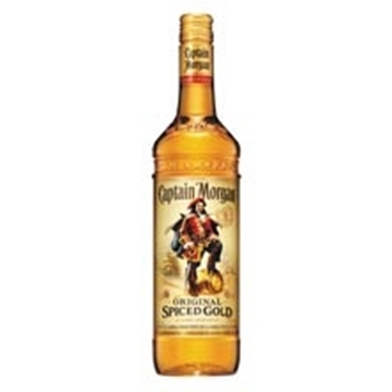 Picture of Captain Morgan Spiced Gold Rum Bottle 750ml