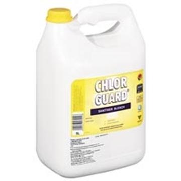 Picture of Chlorguard Sanitiser Bleach Bottle 5l