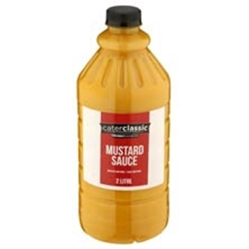 Picture of Caterclassic Mustard Sauce Bottle 2l