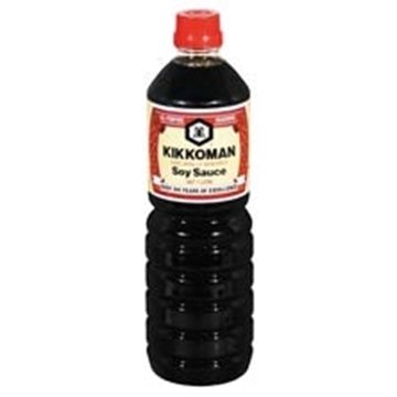 Picture of Kikkoman Soya Sauce Bottle 1l