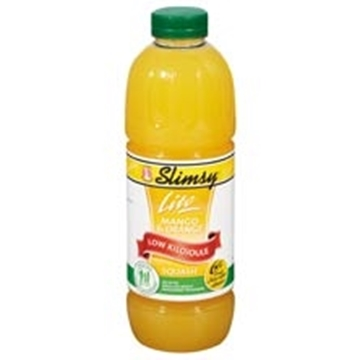 Picture of Elvin Slimsy Lemon & Lime Flav Concentr Squash 1L