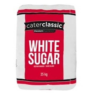 Picture of Caterclassic White Sugar Bag 25kg