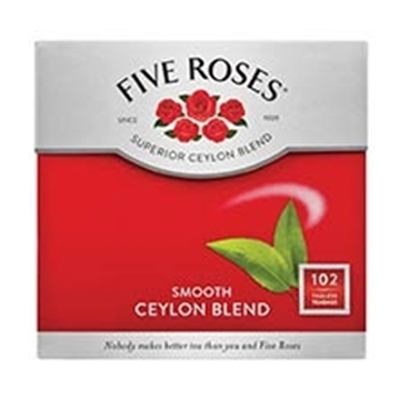 Picture of Five Roses Tagless Teabags Pack 100