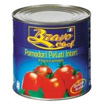 Picture of Bravo Chef Whole Peeled Tomato Can 2.5kg
