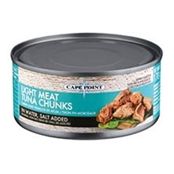 Picture of Cape Point Tuna Chunks In Brine Can 170g