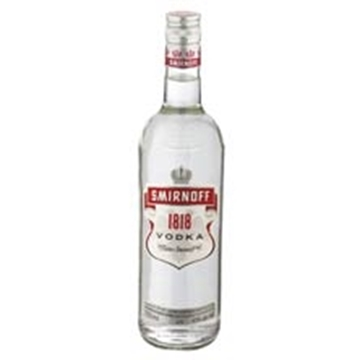 Picture of Smirnoff White Vodka 1818 Bottle 750ml
