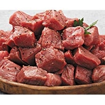 Picture of Caterclassic Frozen Beef Cubes Boneless 5kg