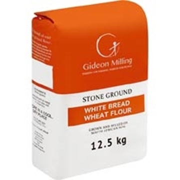 Picture of Gideon Milling White Bread Flour Bag 12.5kg