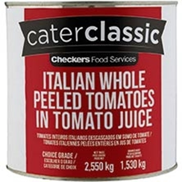 Picture of Caterclassic Whole Peeled Tomato Can 2.55kg