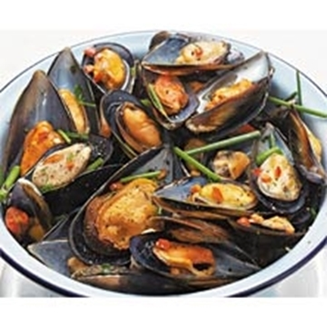 Picture of Breco Seafood Frozen Mussel Half Shell Pack 800g