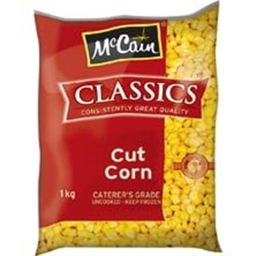 Picture of McCain Frozen Cut Corn Pack 1kg