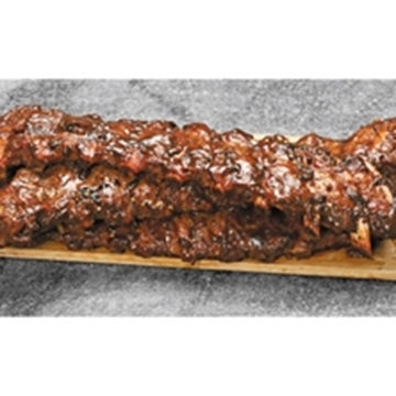 Picture of BRM Frozen Marinated Pork Loin Ribs 350g/450g 10kg
