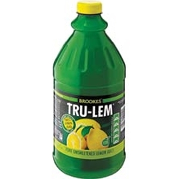 Picture of Brookes Tru-Lem Lemon Juice Bottle 2l