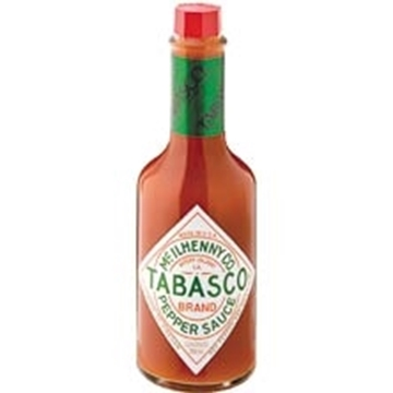 Picture of Tabasco Red Pepper Sauce Bottle 350ml