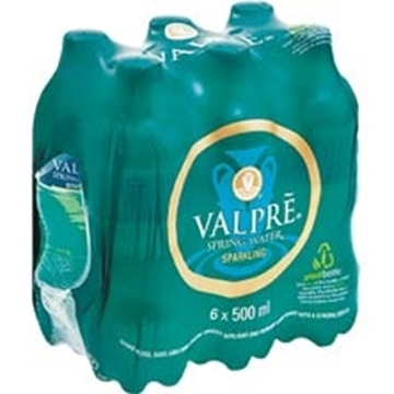 Picture of Valpre Sparkling Spring Water 6 x 500ml
