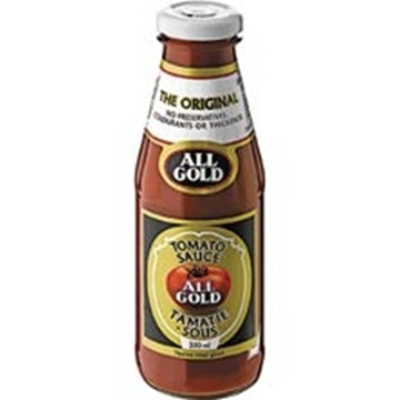 Picture of All Gold Tomato Sauce Bottle 350ml