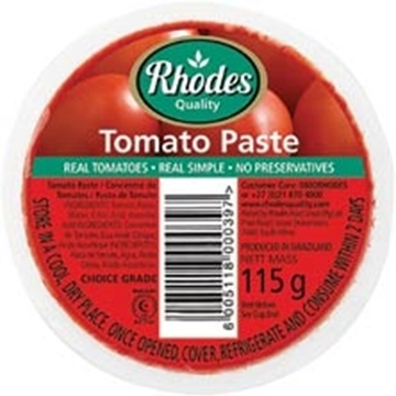 Picture of Rhodes Tomato Paste Tub 115g