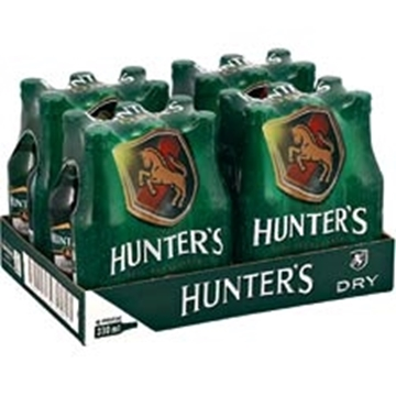 Picture of Hunter's Dry Cider Bottles 24 x 330ml