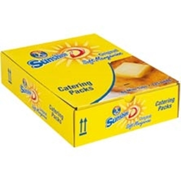 Picture of Sunshine D Margarine Portions Box 125 x 8g