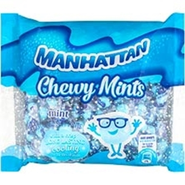Picture of Manhattan Chewy Mints Mint Sweets Pack 1kg