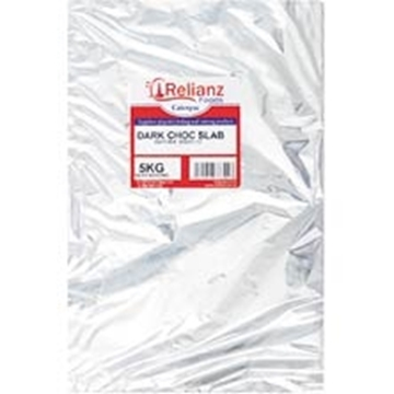 Picture of Relianz Milk Chocolate Slab Pack 5kg