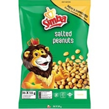 Picture of Simba Salted Peanuts Pack 36 x 50g