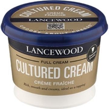 Picture of Lancewood Fraiche Sour Cream Tub 250g