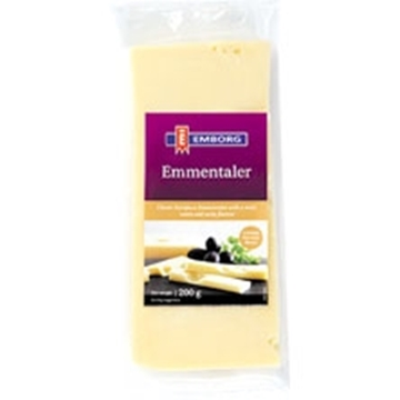 Picture of Emborg Emmentaler Cheese Pack 200g