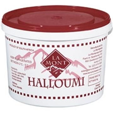Picture of La Mont Mint Halloumi Cheese Bucket 3kg