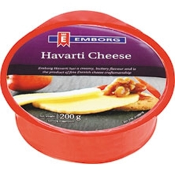 Picture of CHEESE HAVARTI EMBORG 200G PACK