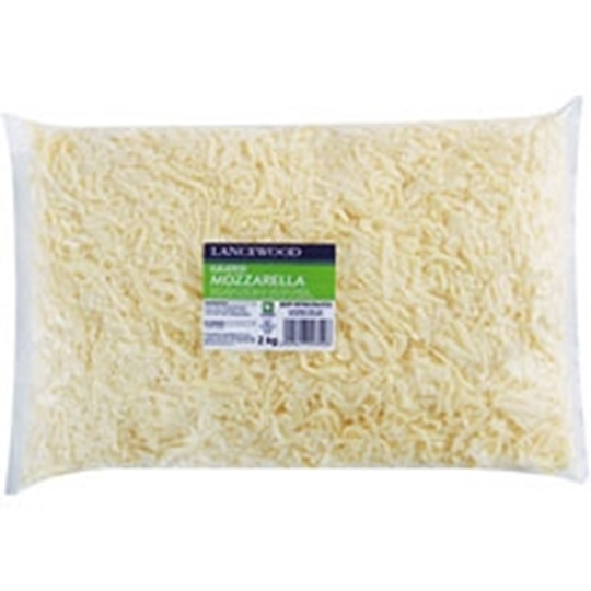 Picture of Lancewood Grated Mozzarella Cheese 2kg