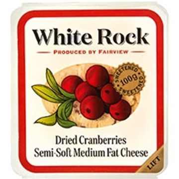 Picture of Fairview Cranberry White Rock Cheese Pack 100g
