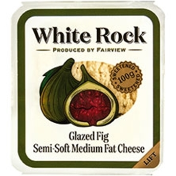 Picture of Fairview Figs White Rock Cheese Pack 100g
