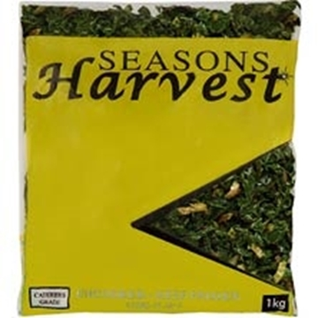 Picture of Seasons Harvest Frozen Spinach Veg Pack 1kg