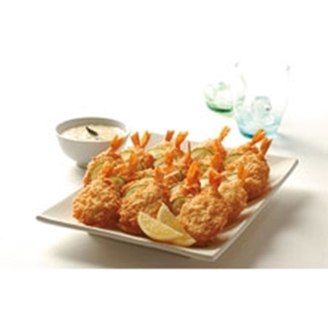 Picture of Pacific West Froz Crumbed Cutlet Prawns 16/20 2kg